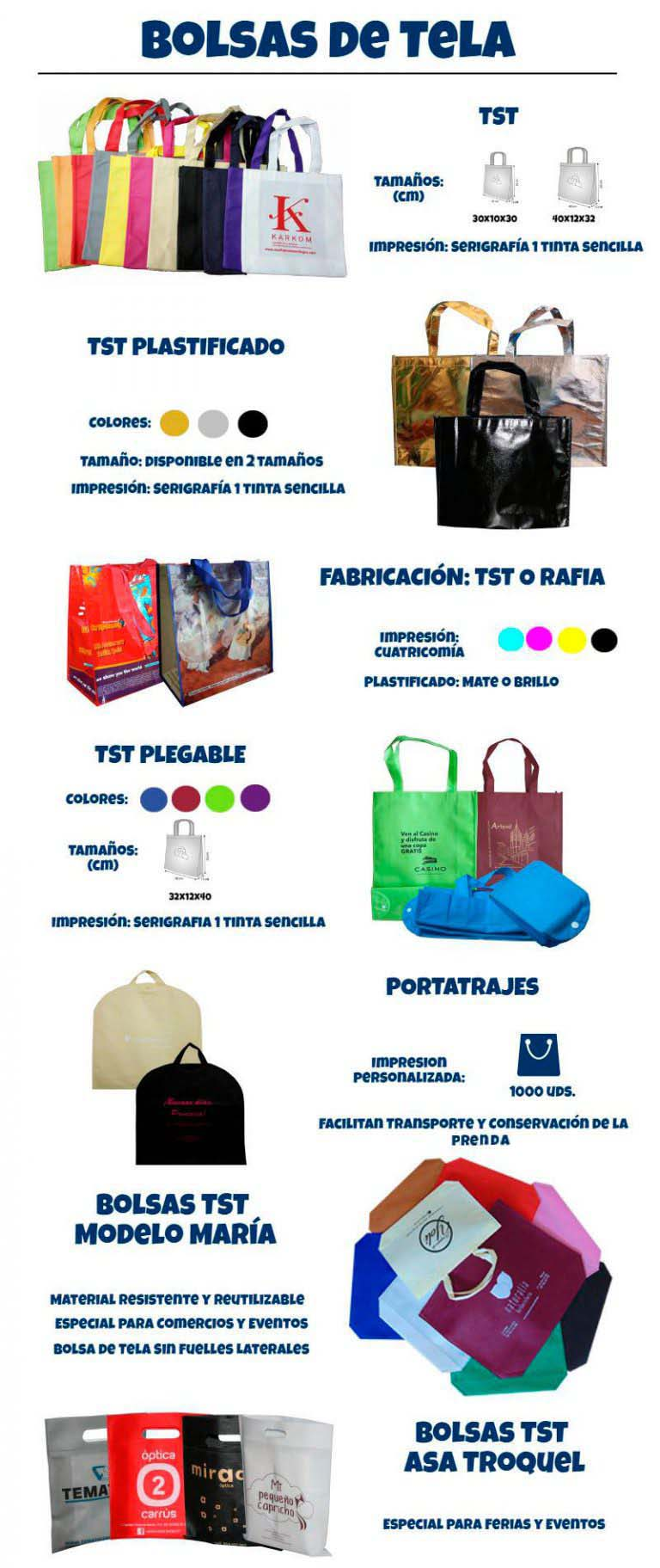 70a856cb1 Bolsas de Tela Personalizadas con Servicio Urgente - Bolsapubli.net
