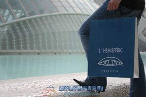bolsas de papel en Valencia personalizadas