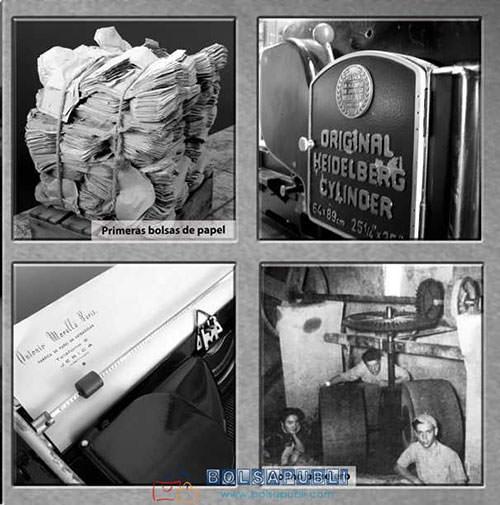 bolsas en papel antiguas