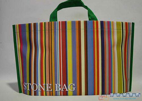 bolsas de papel impresas en Zaragoza modelo Stonebag