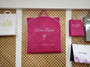 Bolsas para traje de tela con tu logo