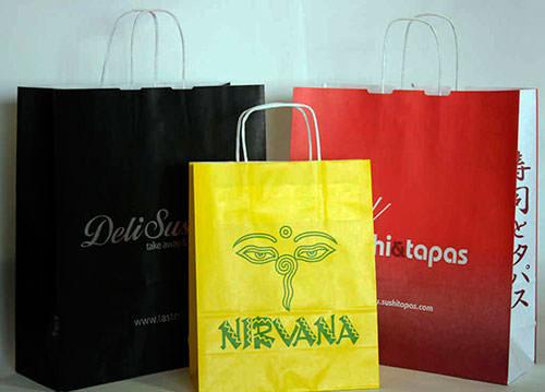 Bolsas impresas con mi Logo