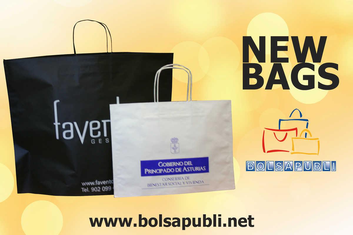 NEWBAGS - Nueva bolsa de papel - Bolsapubli