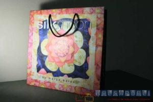 bolsas de papel de lujo plastificadas
