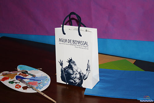 bolsas de papel de lujo impresas