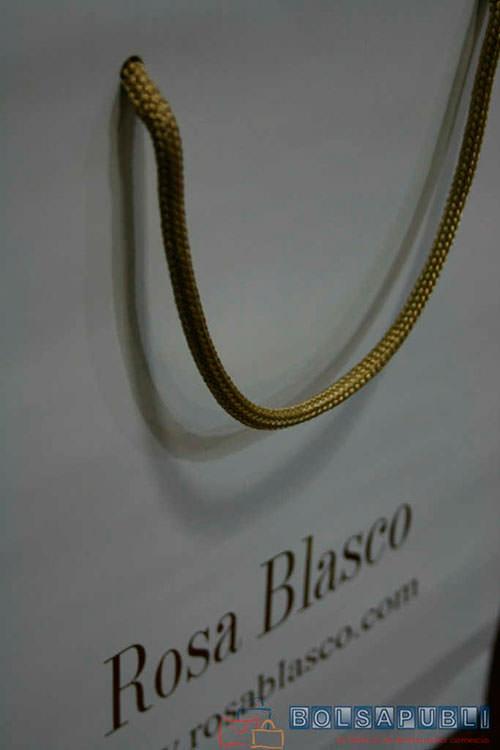 Bolsa de Papel Rosa Blasco