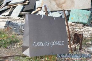 fábrica de bolsas de lujo impresas