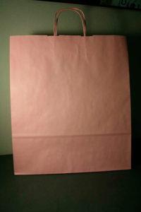 fabrica de bolsas de papel de asa rizada