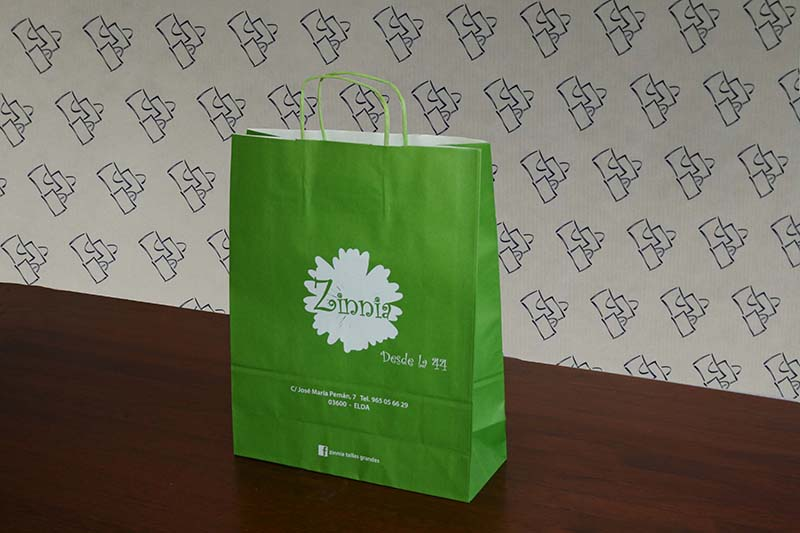Bolsas Papel Greenery