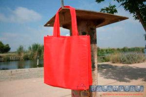 Bolsas de Tela Roja