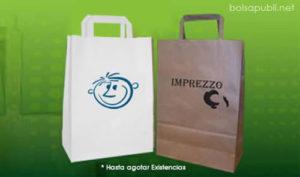 bolsas de papel impresas urgentes baratas
