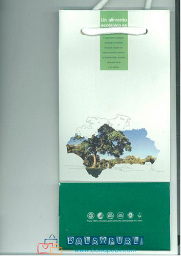 bolsas de papel impresas para botellas 7