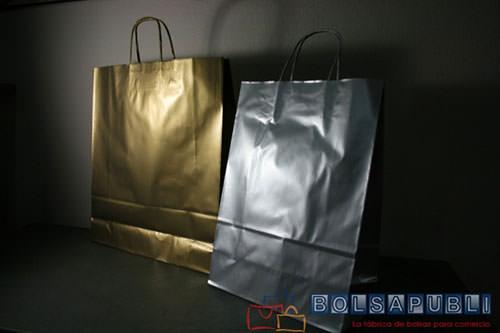 bolsas de papel personalizadas de colores