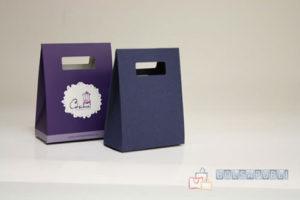 bolsas de papel personalizadas asa troquelada