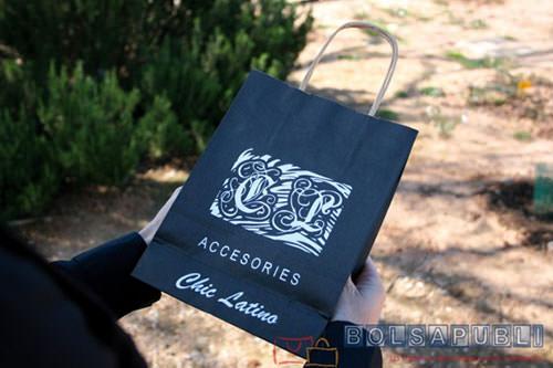 bolsas de papel personalizadas con marca