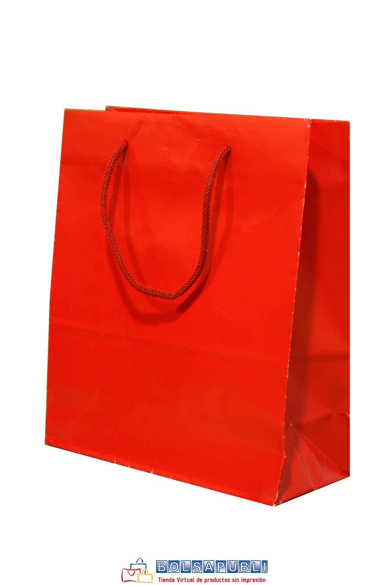 bolsa de lujo roja