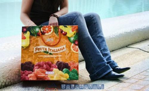bolsas de papel con publicidad resistentes