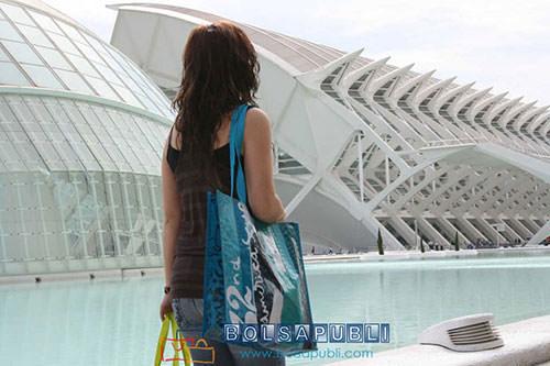 bolsas de papel con publicidad en Valencia