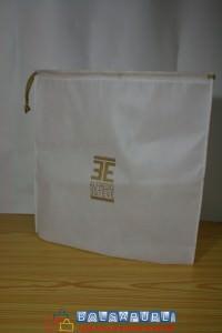 bolsa de tela con logo