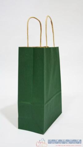 bolsas de papel impresas verdes