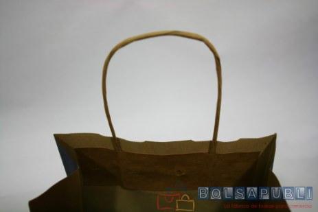 bolsas de papel impresas asa rizada