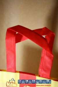 bolsas de tela personalizadas azas plana