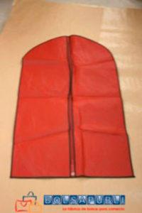 Fundas Porta Trajes Rojo