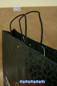 bolsas de papel de lujo asas