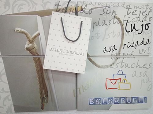 bolsas de papel de lujo personalizadas