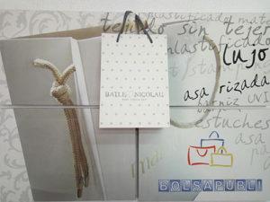 bolsas de papel de lujo con tu logo