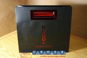 bolsas de papel personalizadas con logo negras