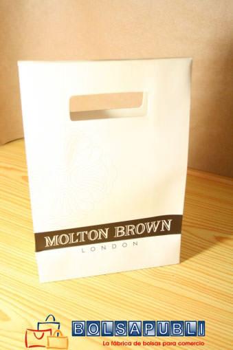 bolsas de papel personalizadas con logo simples