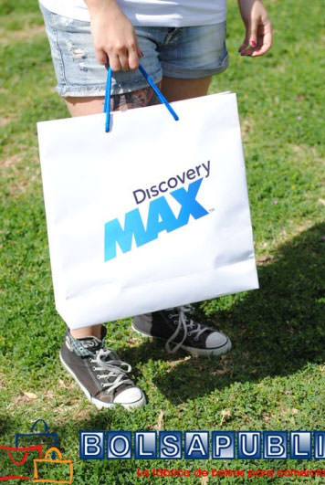 Bolsa de Papel DiscoveryMax Lujo