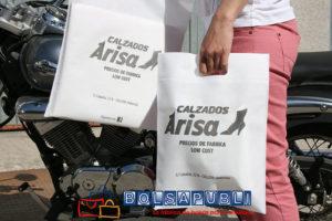 Bolsas de TST Asa Troquelada Blancas
