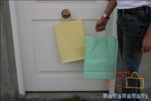 Mejor bolsa de papel asa rizada