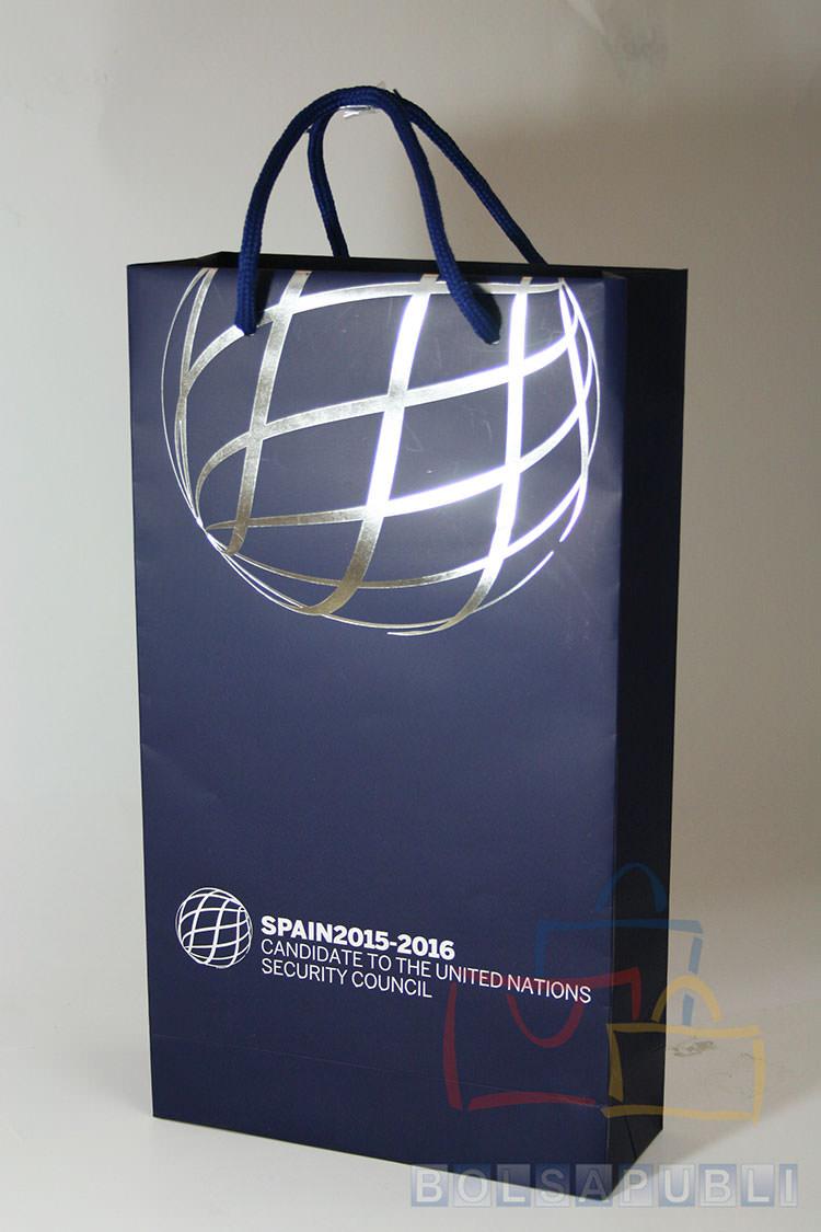 bolsa de papel impresa