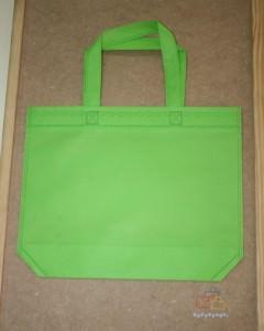 Bolsas de Tela de Regalo Verde