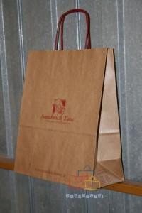 Bolsas Kraft con Logo
