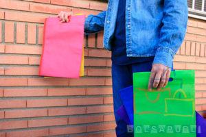oferta de bolsas de tela impresas
