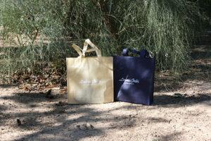 bolsas de papel personalizadas o de tela tst