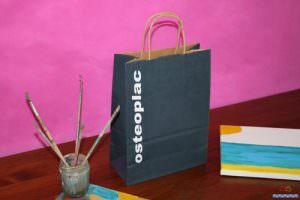 Bolsas de Papel Impresas en Sevilla azul