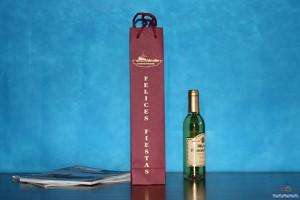 bolsas de papel para botellas personalizadas