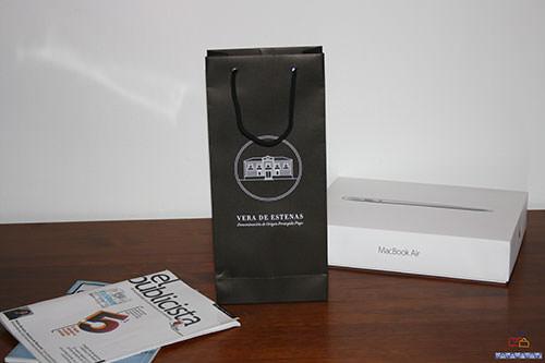 bolsas de papel para botellas con tu logo