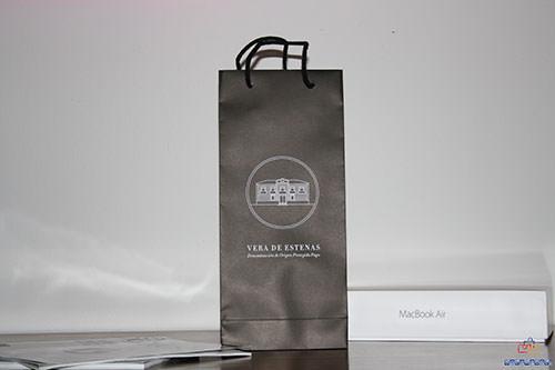 bolsas de papel para botellas exclusivas