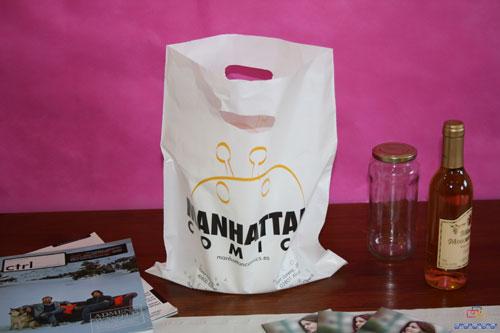 Bolsas de plastico impresas pequeñas cantidad comics