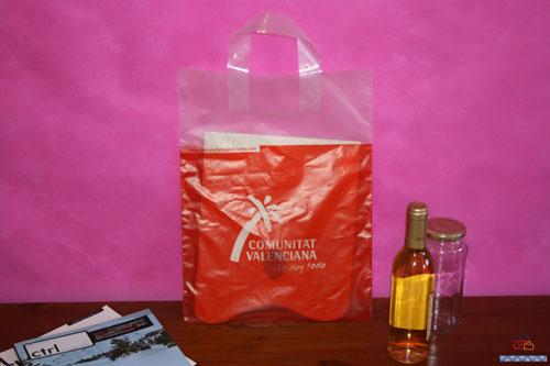Bolsas de plastico impresas pequeñas cantidad comunitat