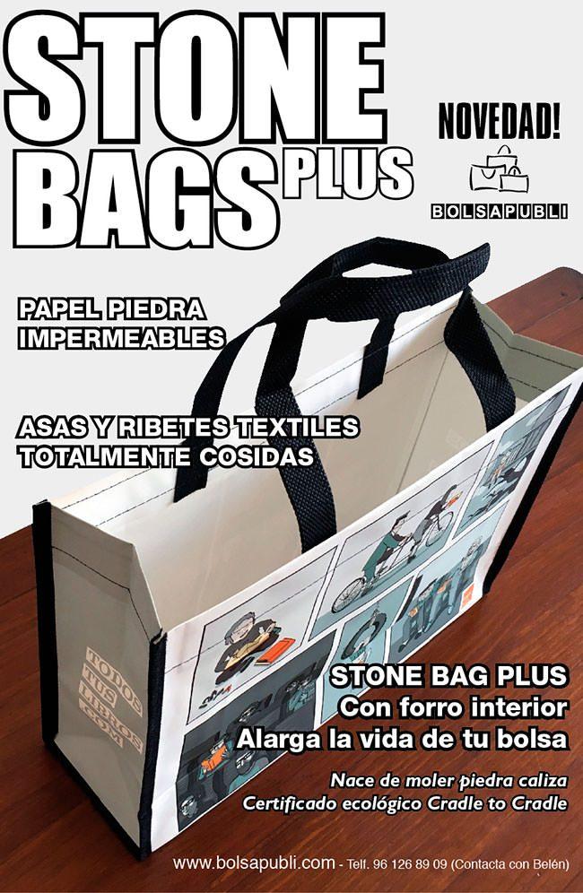 StoneBag Plus Bolsa de Papel de Piedra