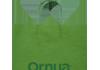 bolsa de asa rizada color verde
