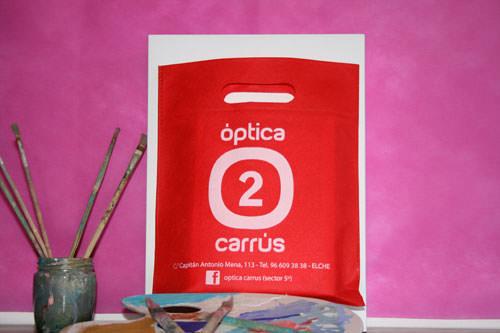 Bolsas de Tela con Logo óptica