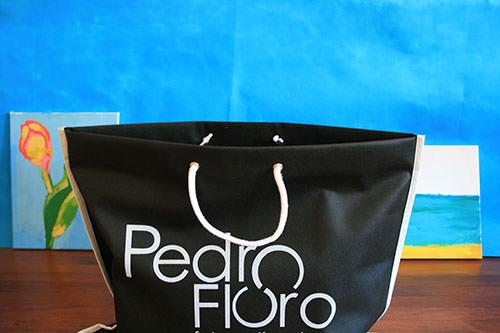 bolsas personalizadas de tela asa cordon
